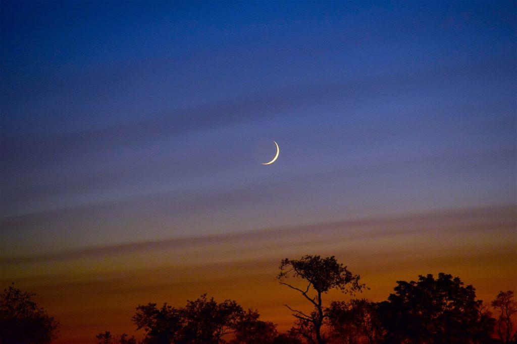luna in crestere
