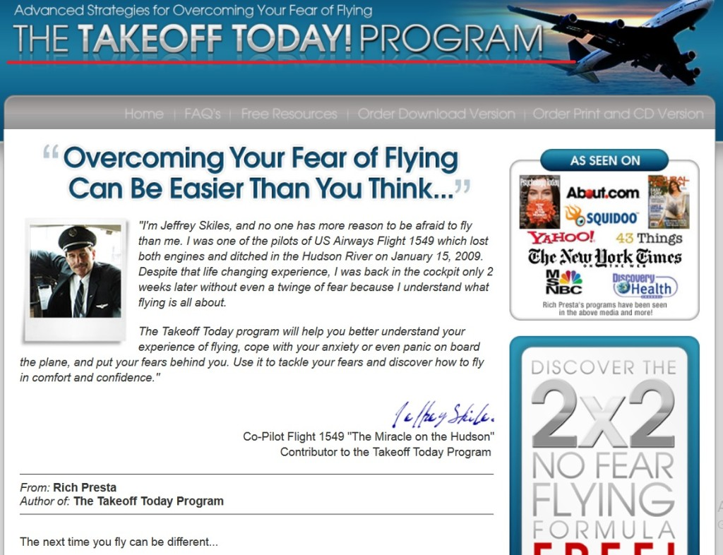 frica de zbor