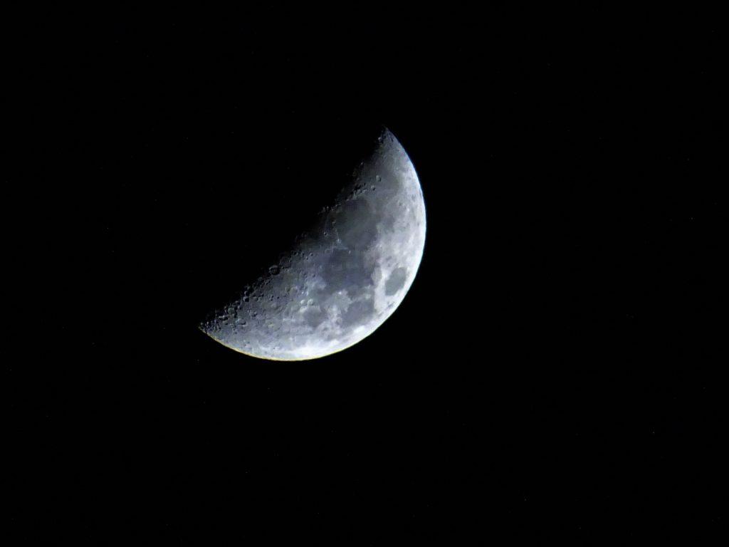 luna în descrestere